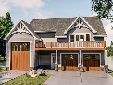 Carriage House Plan, 050G-0096