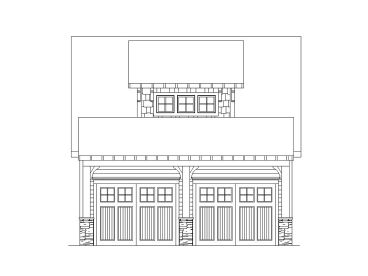 Two-Car Garage Plan, 053G-0025