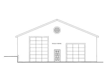 Garage Workshop Plan, 012G-0062