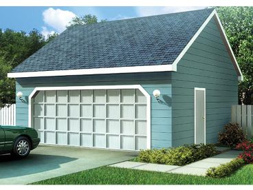 Two-Car Garage Plan, 047G-0005