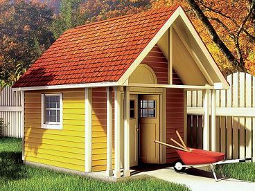Lawn & Garden Shed, 047S-0004