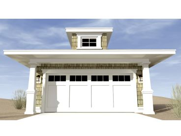 2-Car Garage Plan, 052G-0015