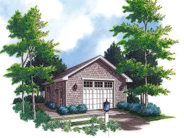 2-Car Garage Plan, 034G-0008
