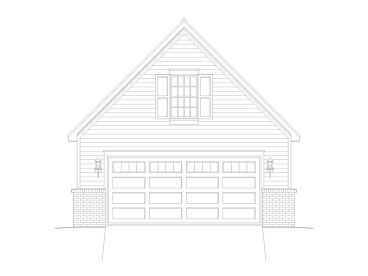 Garage Plan with Loft, 062G-0041