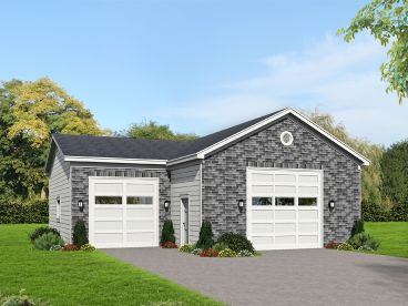 Lift-Friendly Garage Plan, 062G-0123