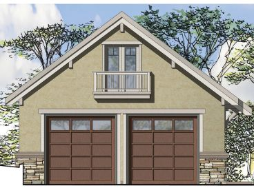 Unique Garage Plan, 051G-0074