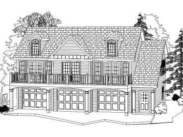 Carriage House Plan, 053G-0002