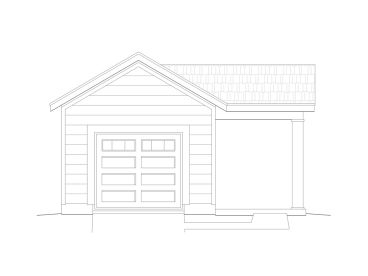 1-Car Garage with Studio, 062G-0012