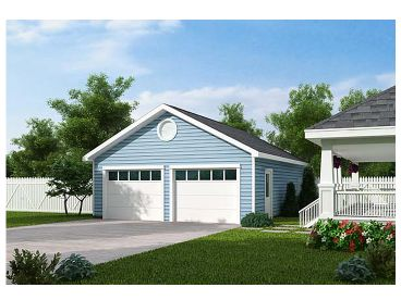 Detached Garage Plan, 047G-0019