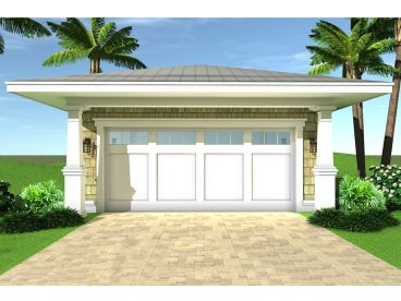 2-Car Garage Plan, 052G-0021