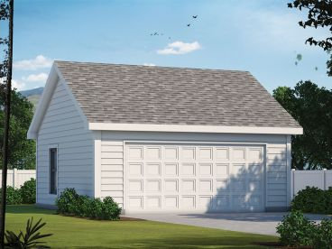 2-Car Garage Plan, 031G-0011