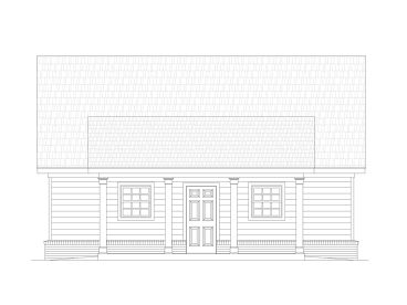 2-Car Garage Plan, 061G-0001