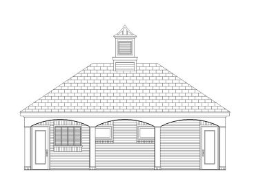 Shower House Plan, 006P-0010