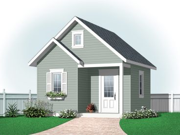 Storage Shed Plan, 028S-0003
