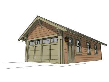 4 car garage plans larger garage designs the garage for Tandem garage