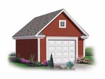1 Car Garage Plans One Car Garage Designs The Garage