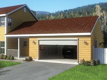 2-Car Garage Plan, 047G-0013