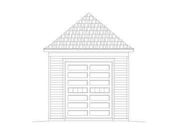 RV Garage Plan, 006G-0140