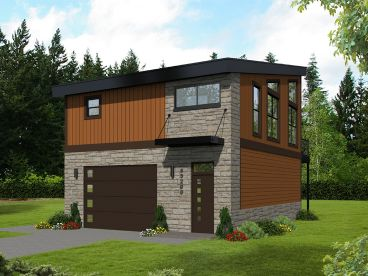Carriage House Plan, 062G-0153