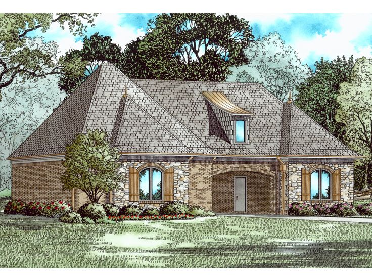 Three Car Garage Plans 3 Car Garage Plan With Porte Cochere 025g 0008 At Thegarageplanshop Com