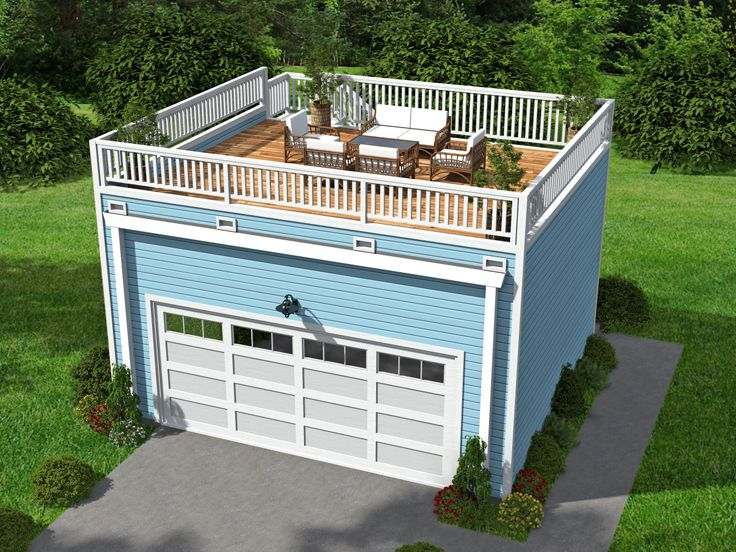 Plan 062g 0072 garage plans and garage blue prints from for How large is a 2 car garage