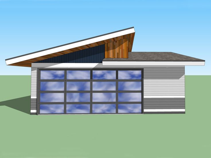 Unique Garage Plan, 056G-0001