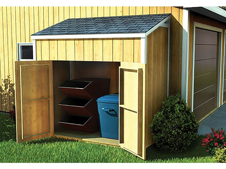 Download outdoor storage shed plans plans free for Wooden garage plans