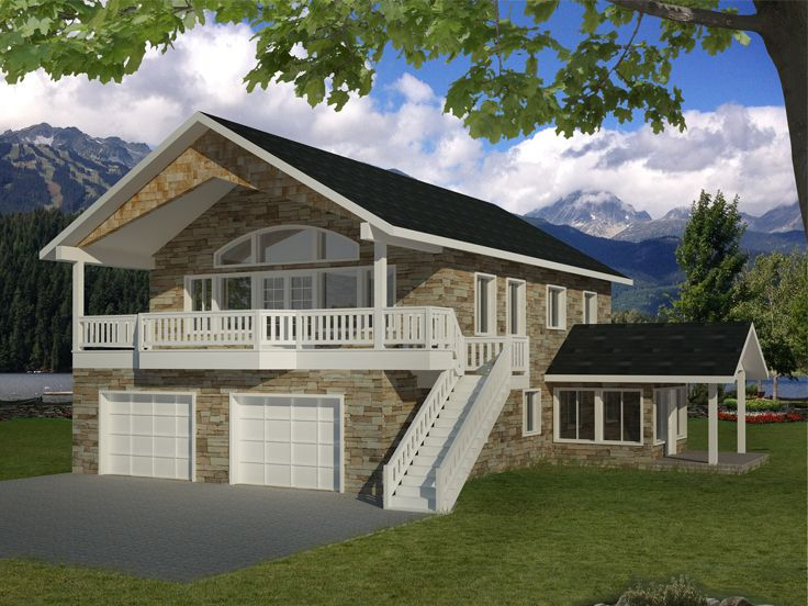 Plan 012g 0087 garage plans and garage blue prints from for Large garage apartment plans