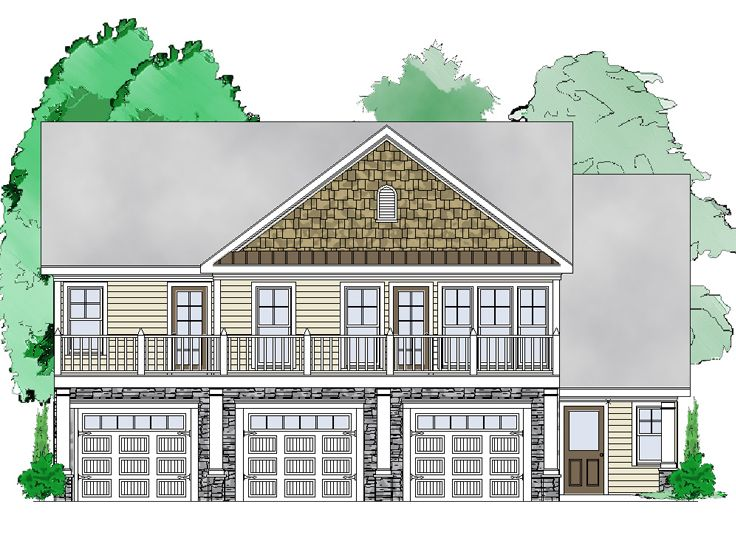 Carriage house plans garage apartment plan design 053g Carriage house plans