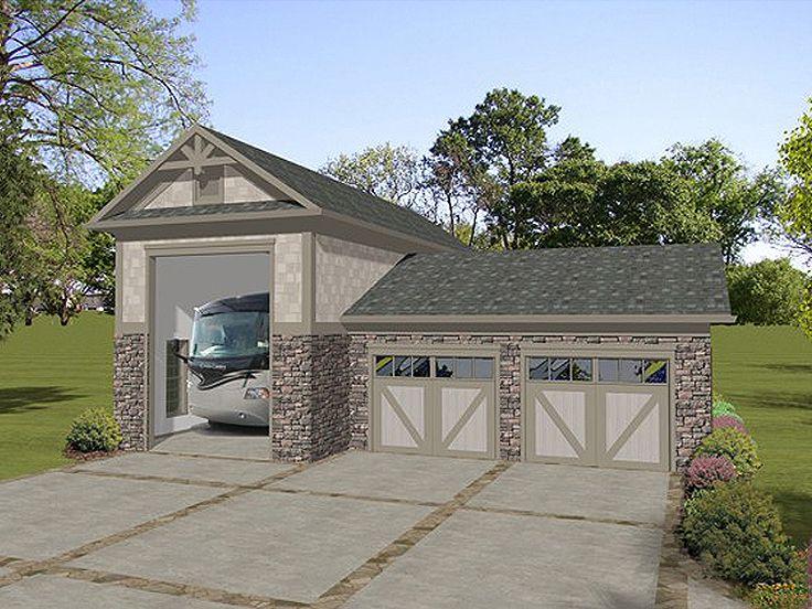 Terrific Rv Garage Plans Motor Home Garages The Garage Plan Shop Largest Home Design Picture Inspirations Pitcheantrous