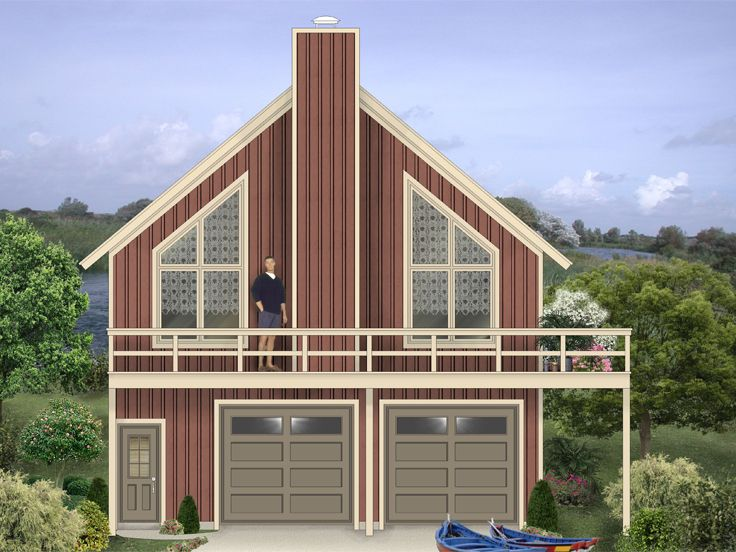 Carriage House Plan, 006G-0169