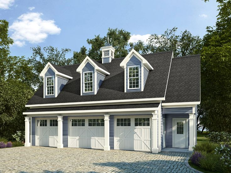 Perfect Garage Apartment Plan, 019G 0008