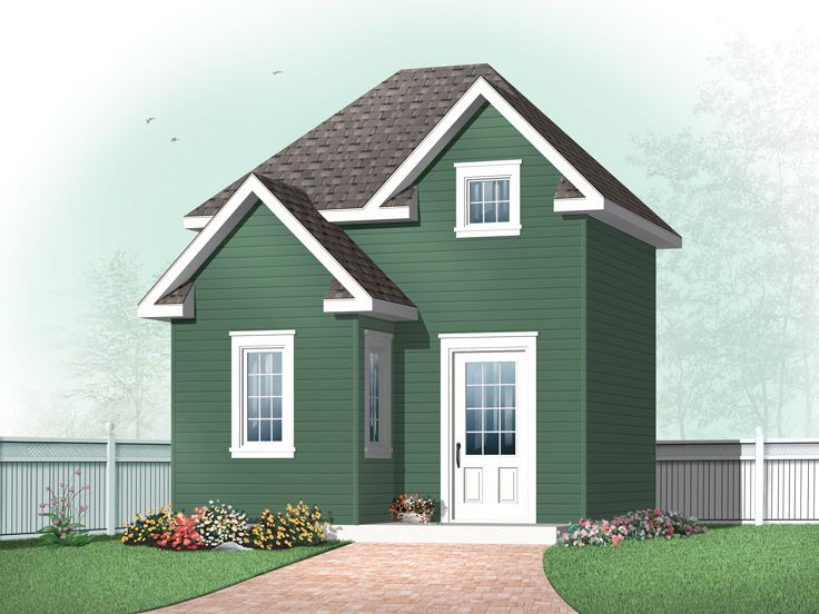 Storage Shed Design, 028S-0009