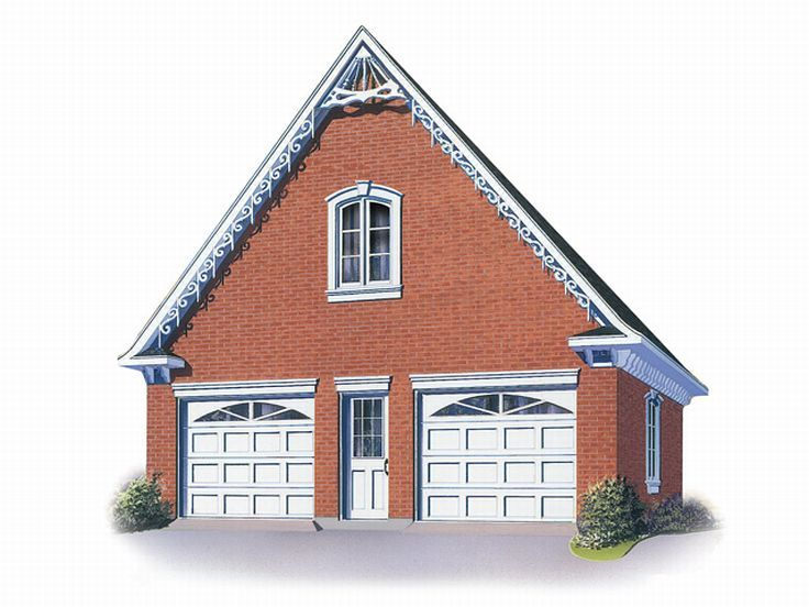Garage with Boat Storage, 028G-0009