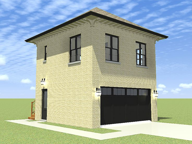 Carriage House Plan, 052G-0011