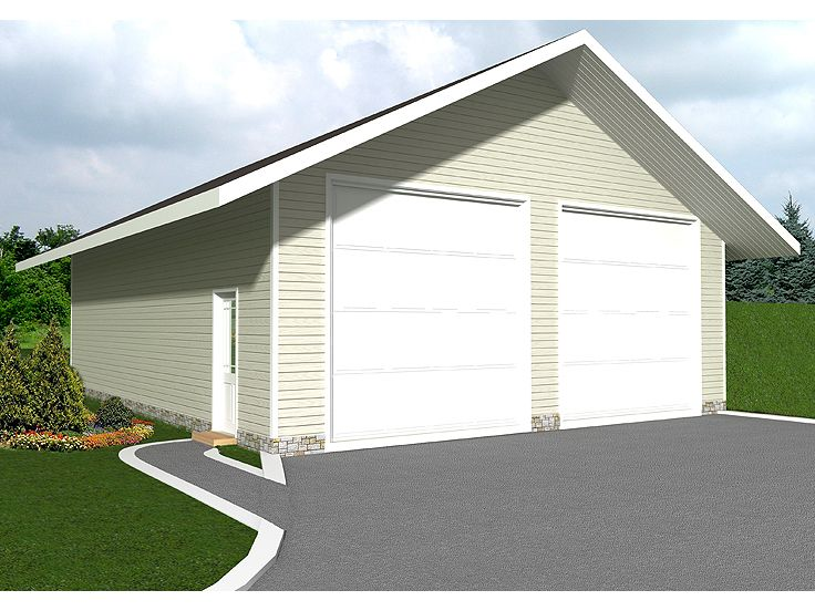 Plan 012g 0033 garage plans and garage blue prints from for Boat storage shed plans