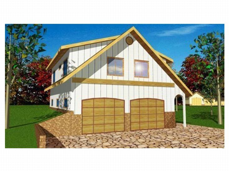 Carriage House Plan, 12G-0004