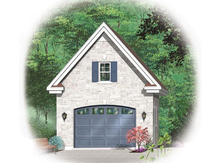 Dream one car garage with loft 13 photo building plans for 1 car garage with loft