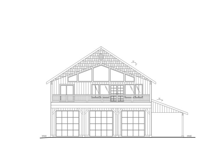 Plan 012g 0126 Garage Plans And Garage Blue Prints From
