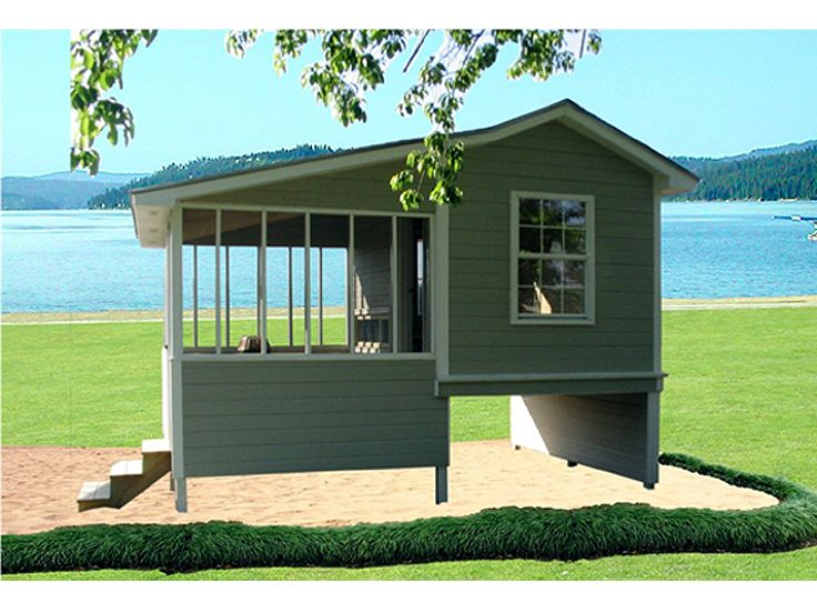 Shed plans storage shed or playroom with screened porch Shed with screened porch