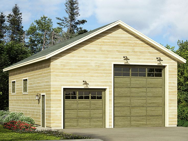 Plan 051g 0099 garage plans and garage blue prints from for Large garage plans