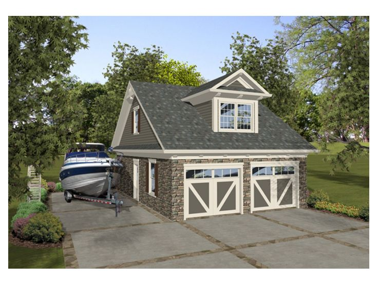 Garage apartment plans boat storage garage plan offers for Double garage with room above plans