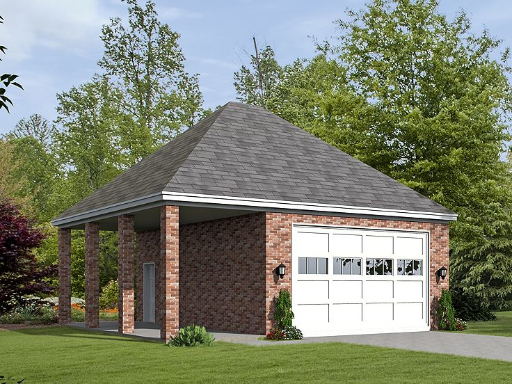 Garage plans with boat storage boat storage garage plan for Boat garage plans