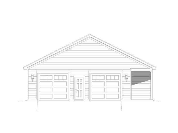 Tandem Garage Plans Tandem Garage Plan With Storage