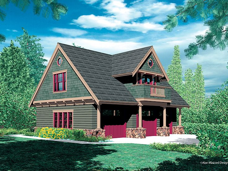 Carriage House Plan, 034G-0010