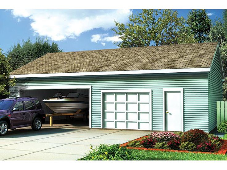 Plan 047g 0017 garage plans and garage blue prints from for Rv storage plans