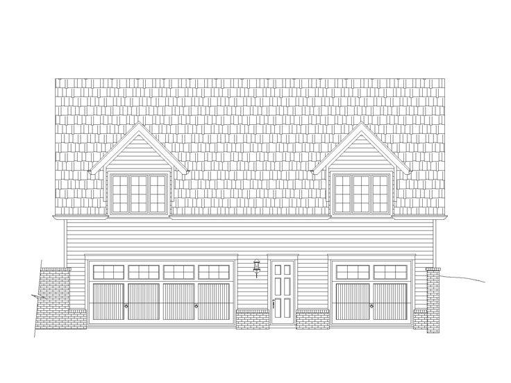 Garage apartment plans garage apartment plan with boat for Boat storage building plans