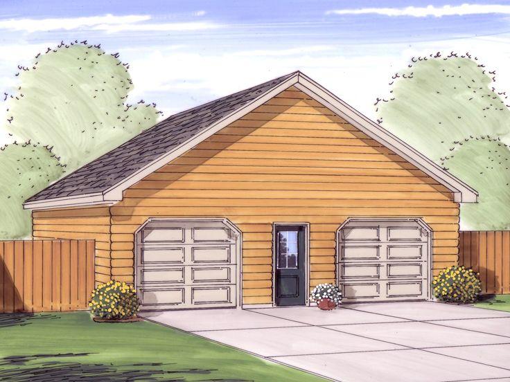 Boat storage garage plans detached 2 car garage with for Boat garage plans