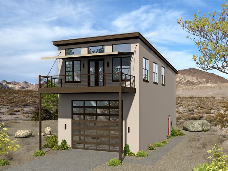 . Garage Apartment Plans   RV Garage Apartment Plan with 3 Bedrooms