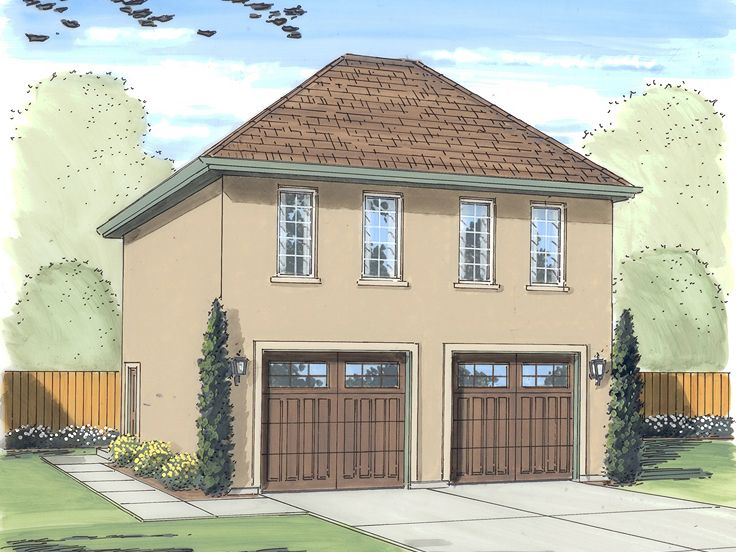Carriage House Plans European Style Garage Apartment